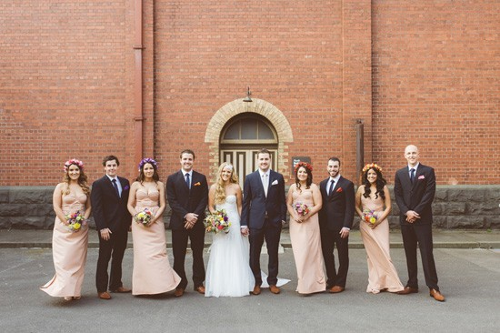 Bridal party at scienceworks