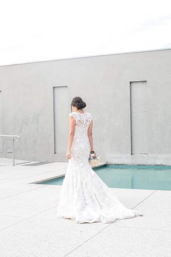 Bride at Carousel
