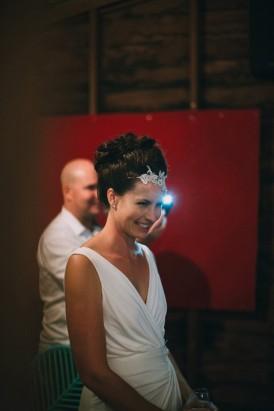 Bride at gold coast wedding