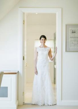Bride in Paul Hunt