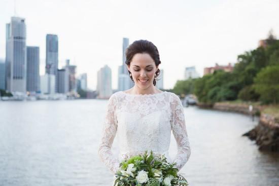 Bride in wendy makin