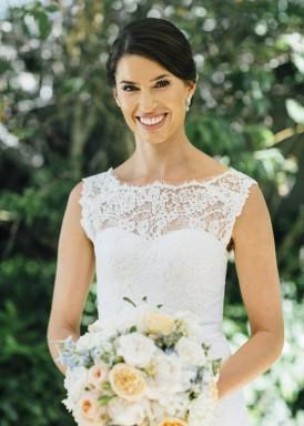 Bride wearing Paul Hunt