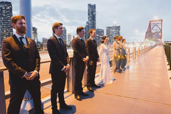 Brisbane city wedding photo