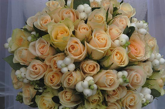 Caroline Khoo bouquet wedding flowers