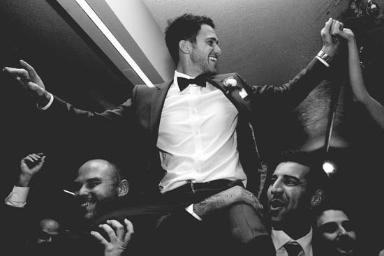 Carousel wedding dancing
