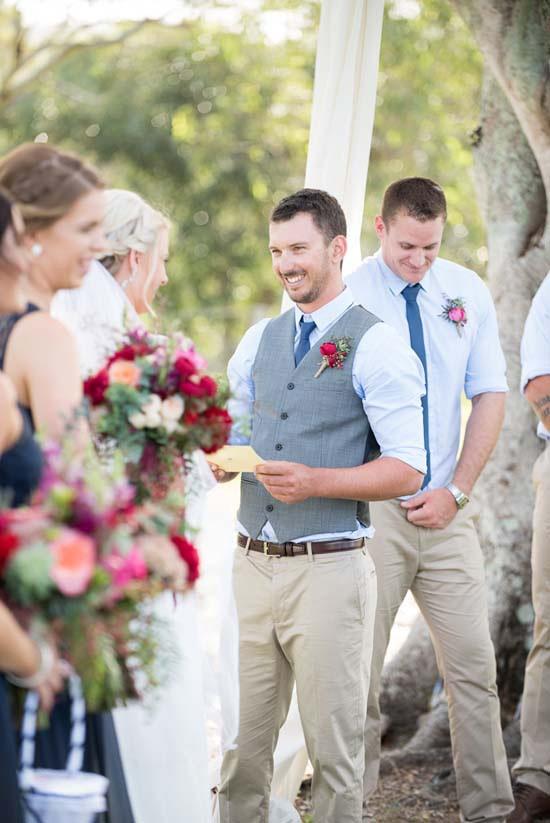 Cassandra Neilson Wedding ceremony
