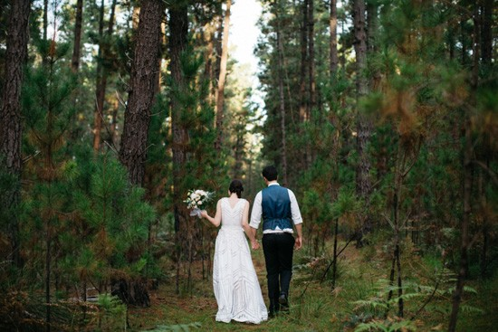 Causal forest wedding