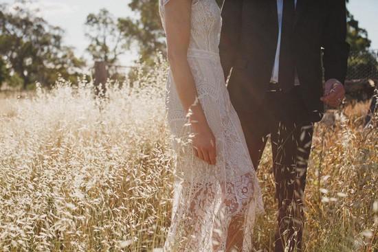 Country wedding photo