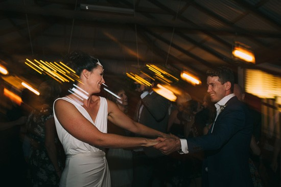 Dancing at country hall