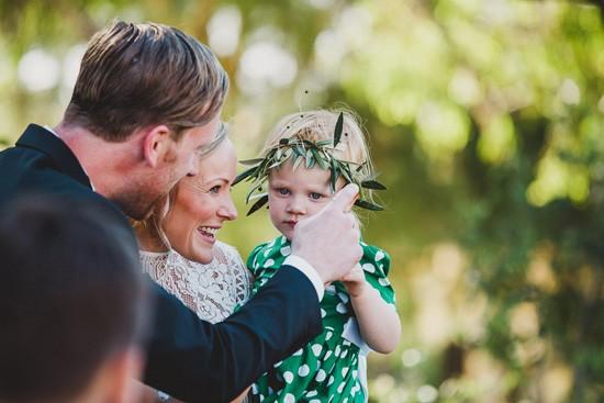 Family wedding ceremony