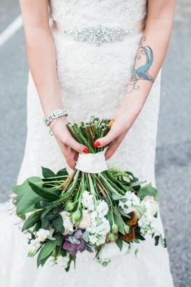 Fox & Rabbit Wedding Bouquet