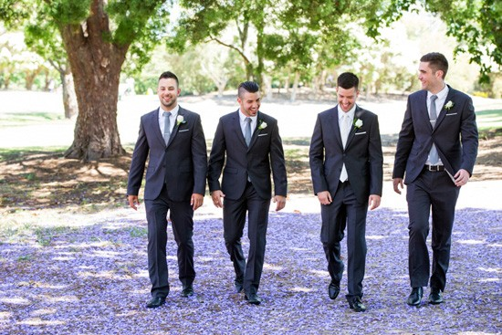 Groomsmen in Oxford Suits