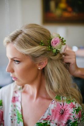 Krystal Okey Wedding Hair