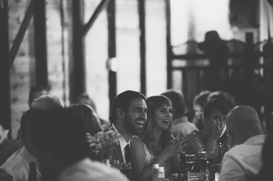 Laughing at Mt Nimmel Hall Wedding