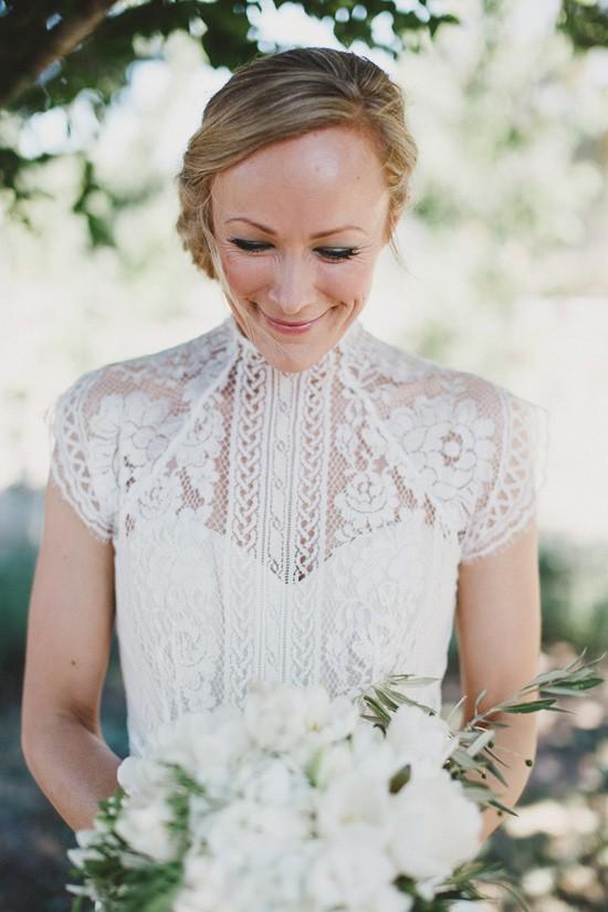 Love the label wedding dress