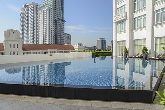 Majestic KL Rooftop pool
