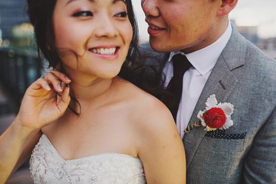 Melbourne bride and groom