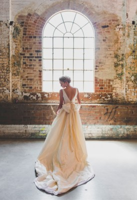 Moira Hughes Pearl Wedding Dress