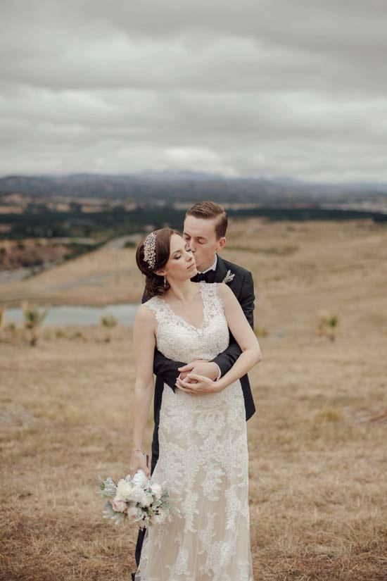 National Arboretum Canberra Wedding Portrait