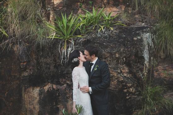 Newlyweds at Kangaroo Point Cliffs