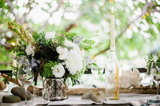Ocean inspired wedding decor