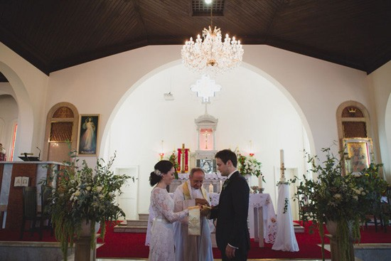Our Lady of Victories Wedding Ceremony