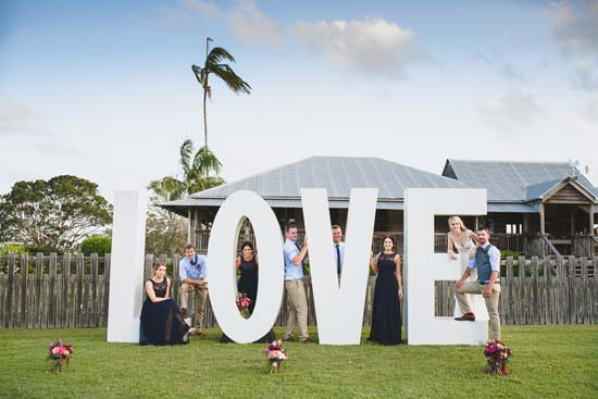 Oversize Love Letters