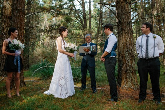 Penrose state forest wedding