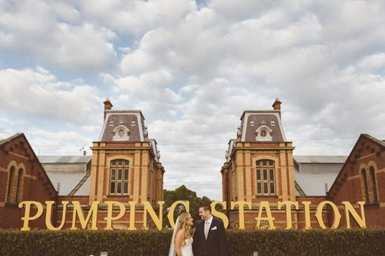 Pumping Station newlyweds