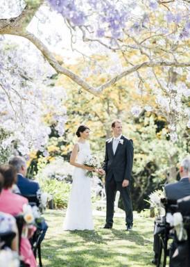 Queensland Jacaranda Wedding