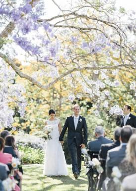 Queensland Spring wedding ceremony