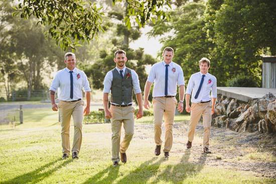 Queensland country wedding