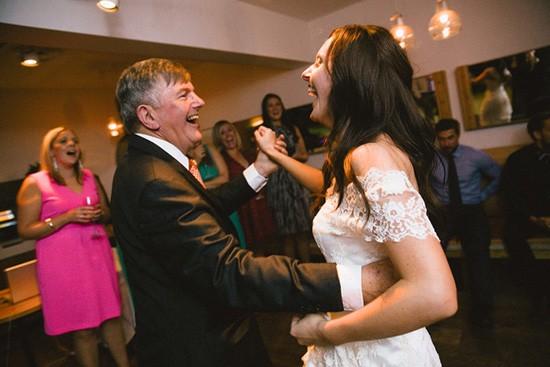 Restaurant wedding dancing