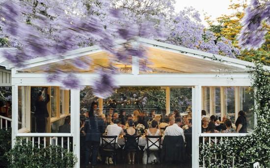 Spicers Clovelly Estate Verandah Reception
