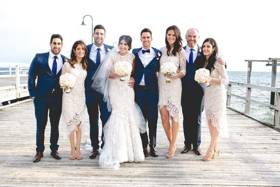 St Kilda Pier Wedding Photos