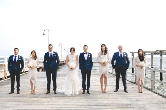 St Kilda wedding photo