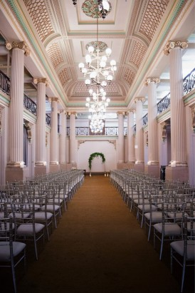 State Library Wedding Ceremony
