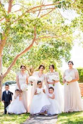 Sydney wedding party