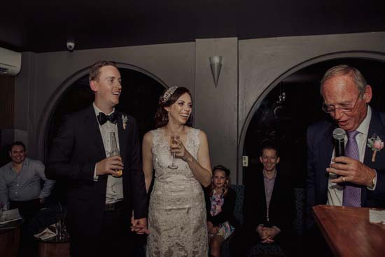 The Treehouse Bar Wedding Speeches