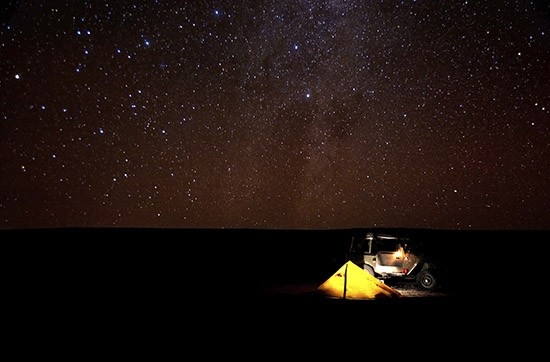 Tinggly experiences - stargazing in California