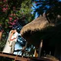 Tropical Wedding Portrait