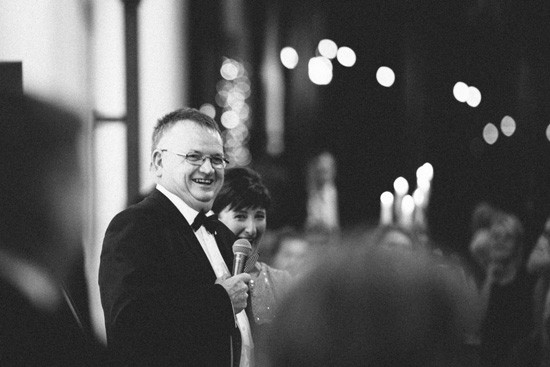 Two Ton Max Black and White Wedding Photo