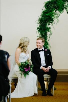 Vic Library wedding ceremony