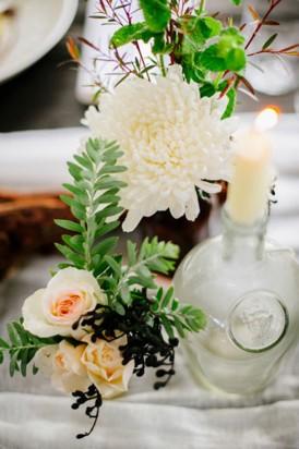 Water inspired wedding arrnagement