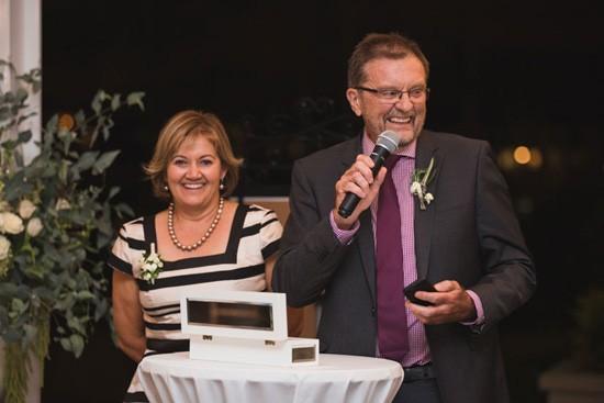 Wedding Speech at The Landing Dockside
