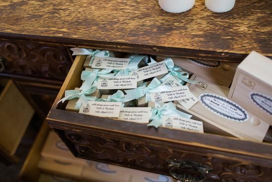 Wedding favor display