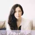 a glass of bubbles with Caroline Khoo of Nectar and Stone