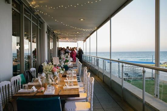 Balcony Wedding Reception
