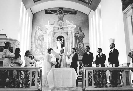 blessing at church wedding