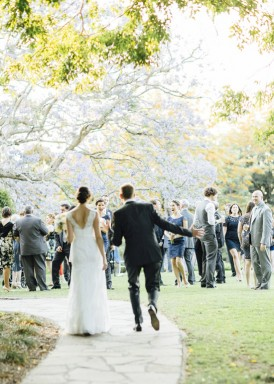 bride and groom at spicers clovelly estate